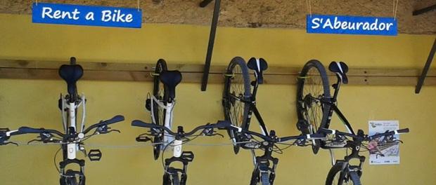 Comercial Casellas, Rent a bike