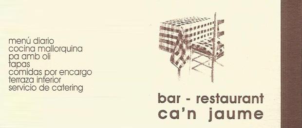 Restaurant Can Jaume